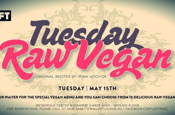 tuesday raw vegan by irina vochita at loft