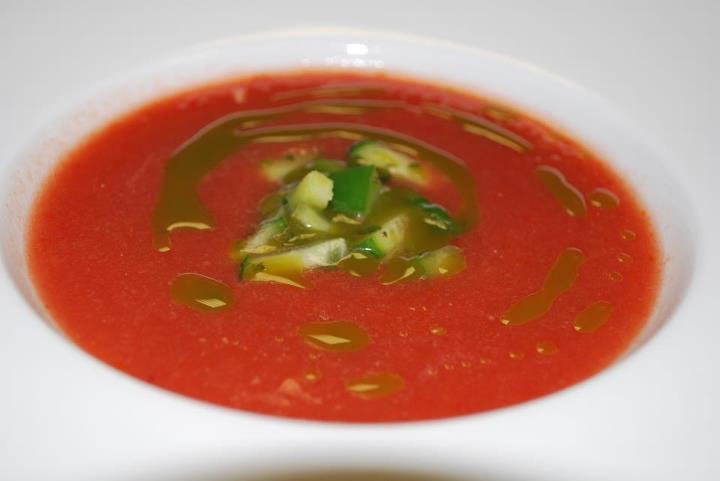 gazpacho de pepene rosu sportychoco