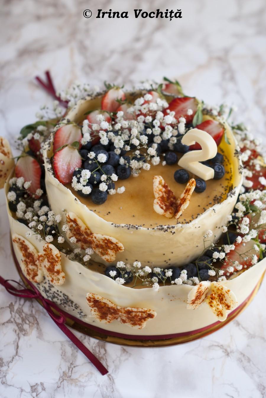cheesecake copt cu ricotta si mascarpone