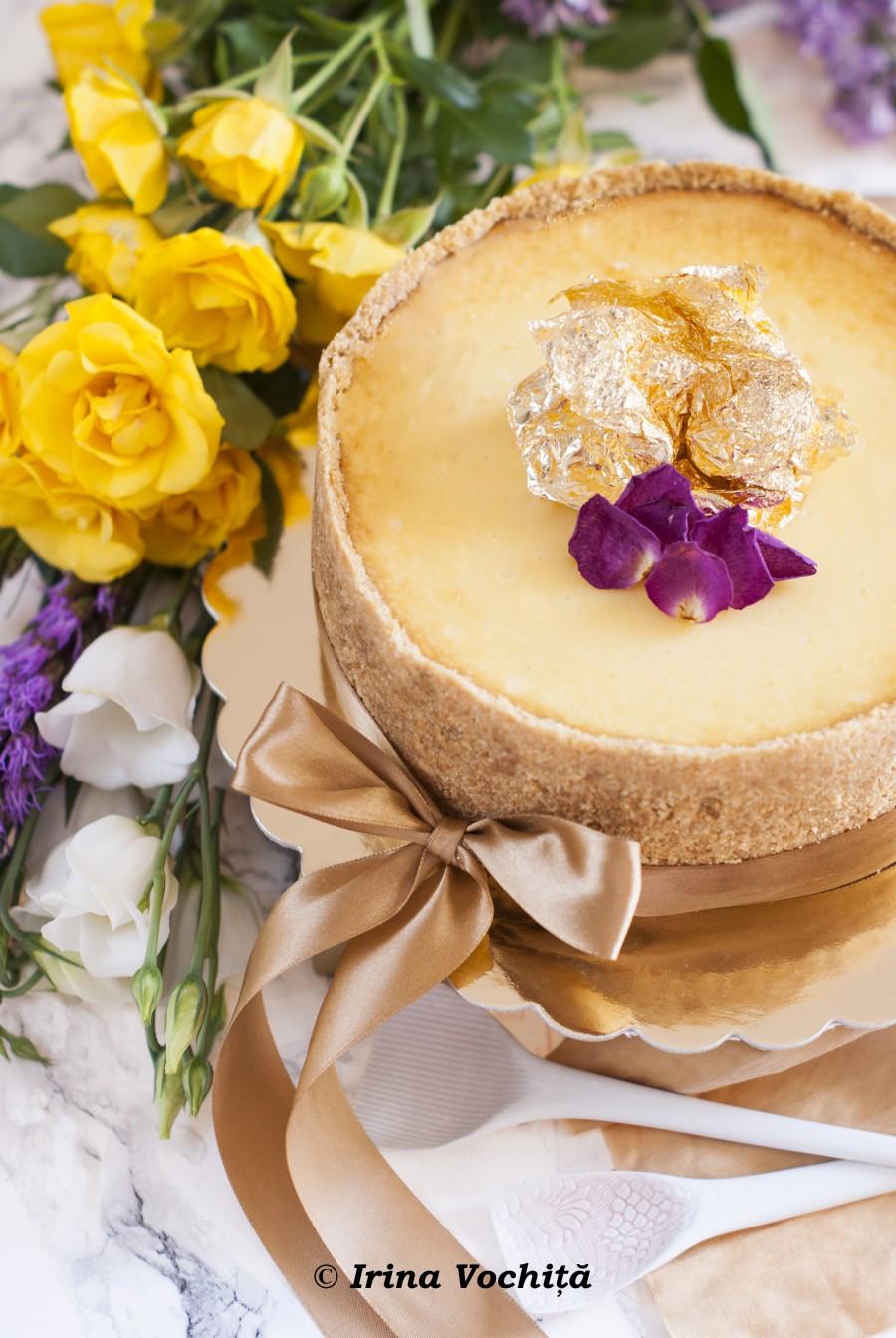 cheesecake cu bergamota