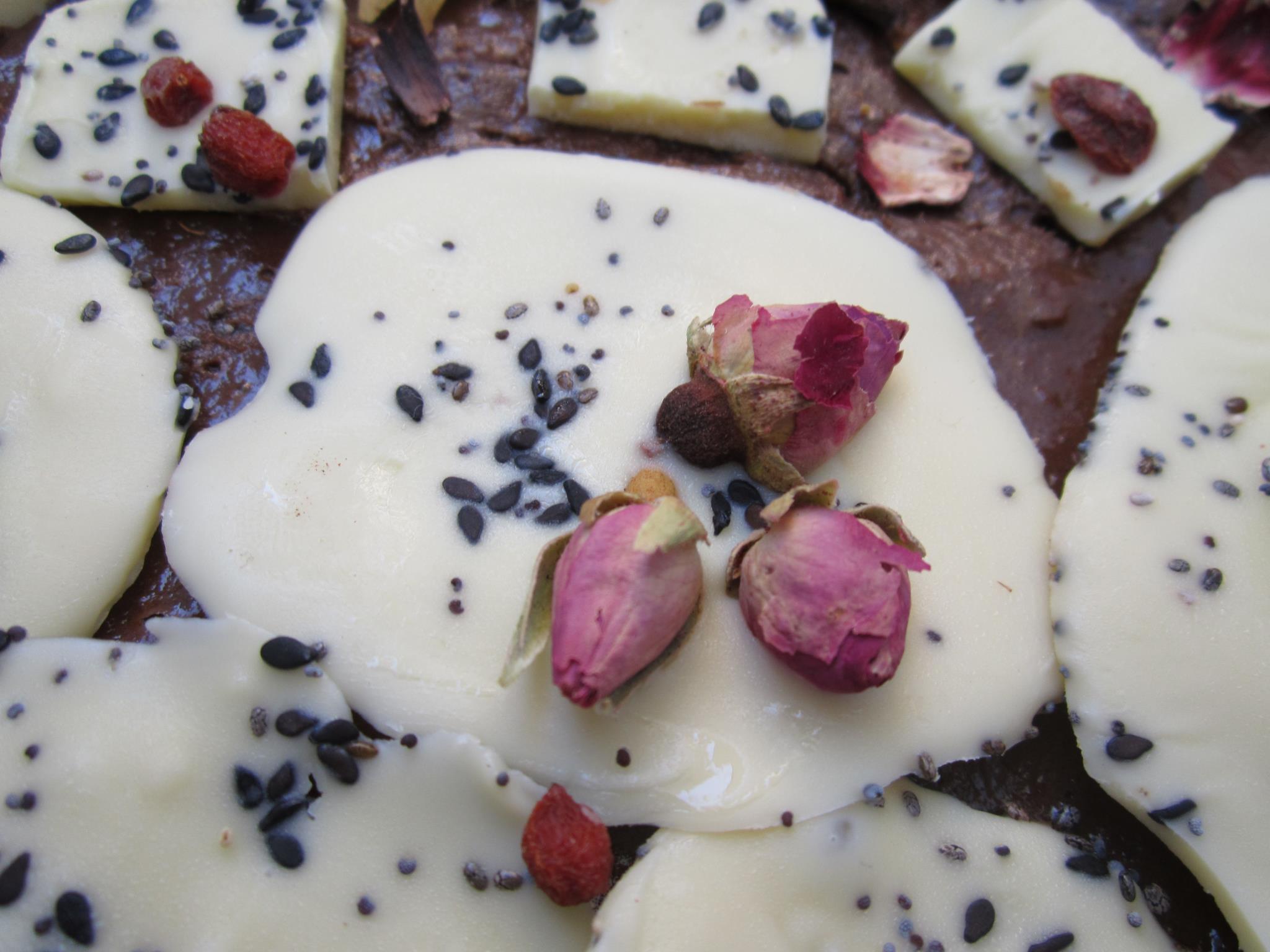 Ciocolată cu trandafiri