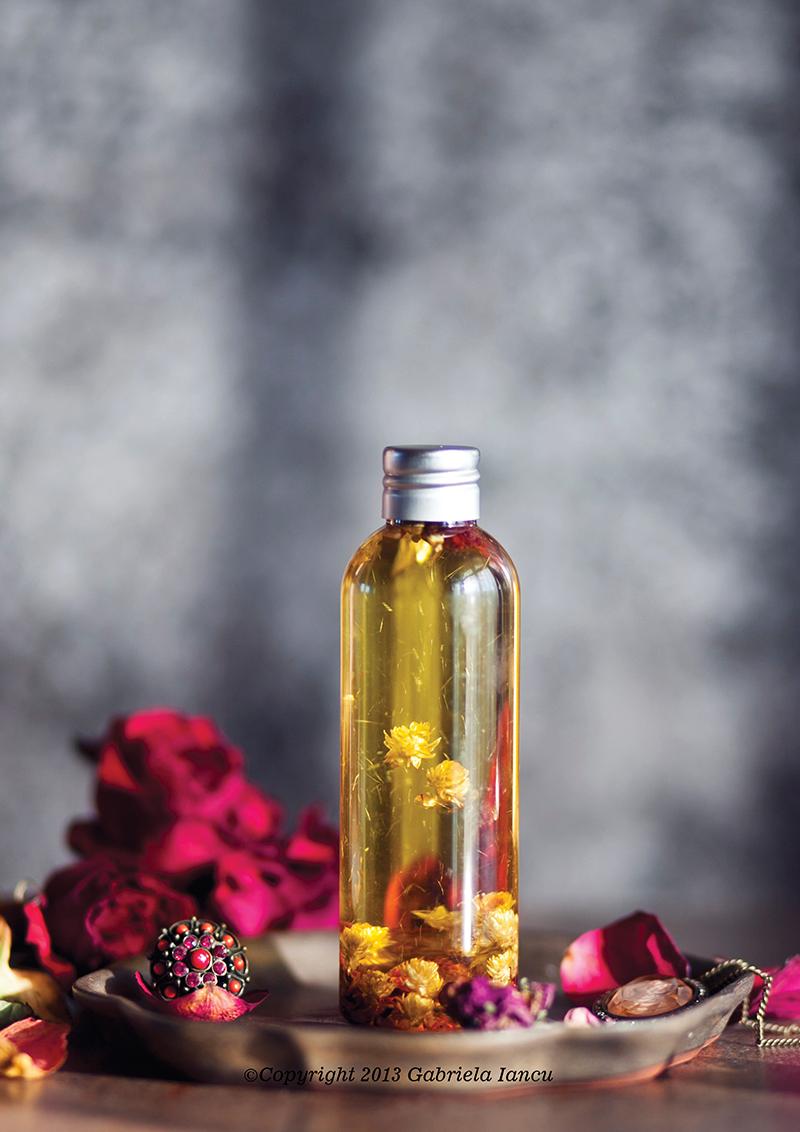elixir aromat pentru masaj