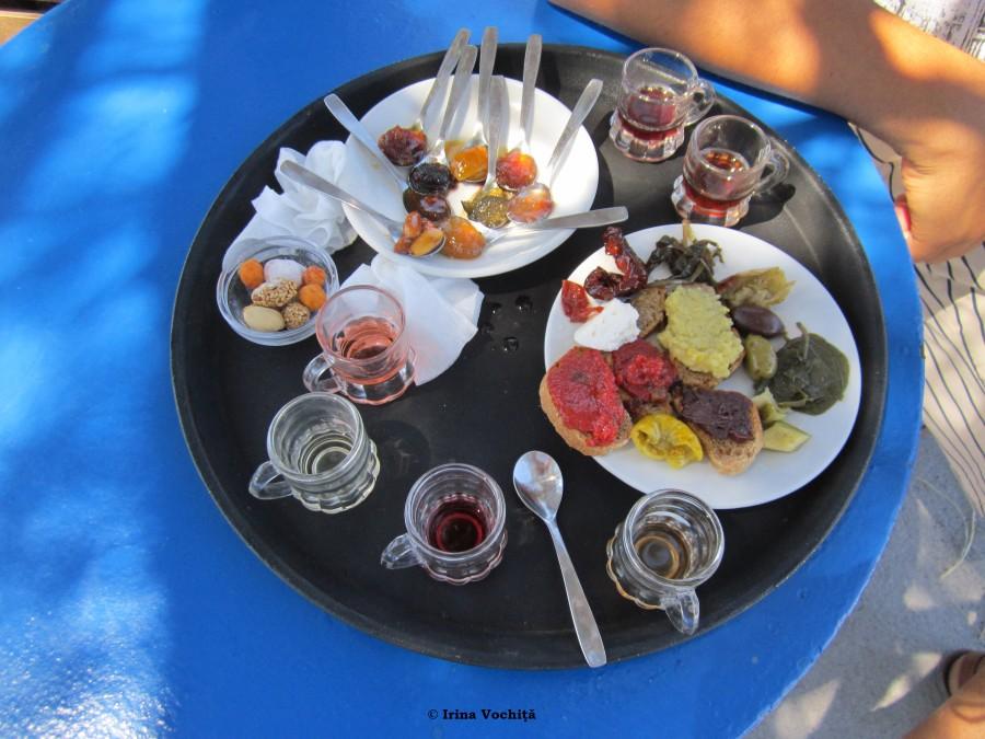 degustare produse locale santorini