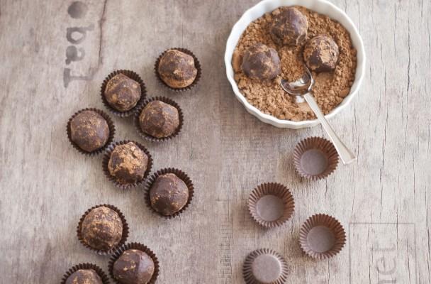 trufe din ciocolata cu mascarpone sportychoco
