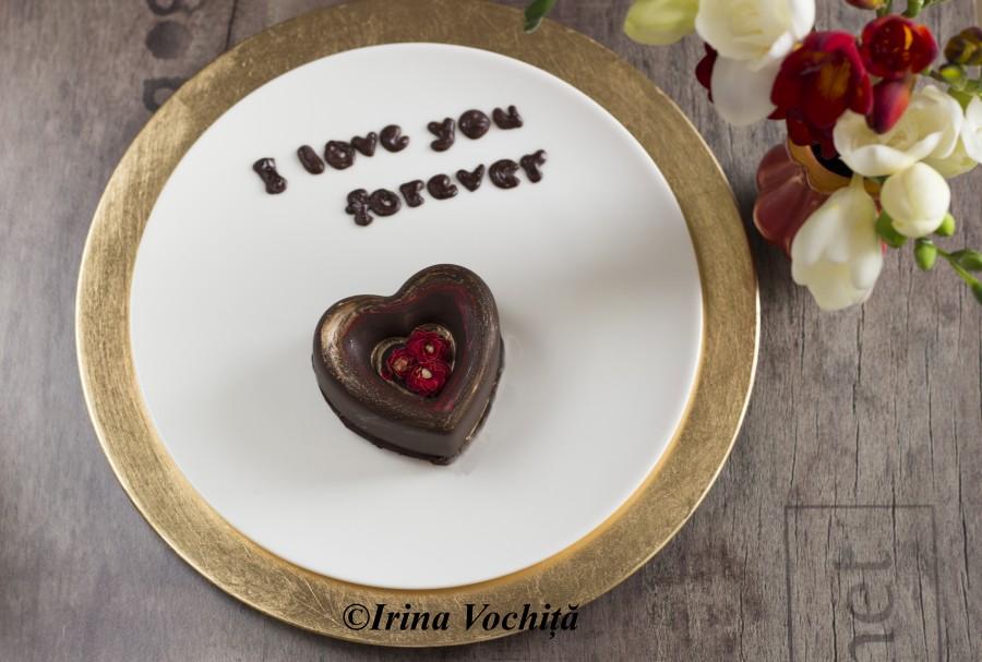 inima din ciocolata raw vegan