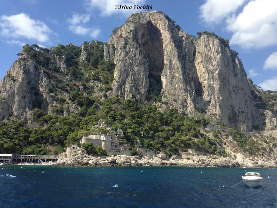 when in capri by boat